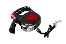Retractable Pet Leash with LED Flashlight