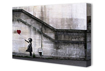 Banksy Canvas Art Prints (10 Options)