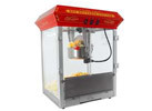 FunTime Carnival Style 8oz Hot Oil Popcorn Machine, Red