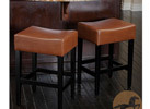 Christopher Knight Home Leather Counter/Bar Stools (2 Options)