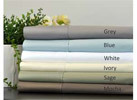 750 Thread Count Pima Cotton Solid Luxury Sheet Set (23 Options)