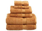 6-Piece 900 Gram Egyptian Cotton Towel Set (14 Colors)
