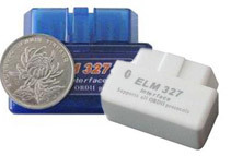 Super Compact ELM 327 OBD-II Bluetooth CAN-BUS Auto Diagnostic Tool, 2-Pack (2 Colors)