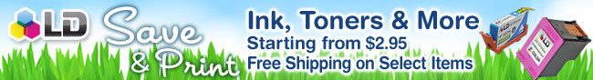 Save & Print Ink, Toners & More Starting From $2.95 Free Shipping on Select Items