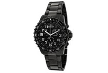 Invicta 1328 Men's Black Dial Two-Tone Chronograph Watch