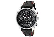 Rotary Aquaspeed GS00100/04 Men's Black Leather Chronograph Watch