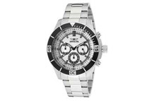 Invicta Specialty 12841 Men's Silver Dial Chronograph Watch