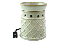Morgan Childs Electric Fragrance Wax Warmer w/ 3 Scents