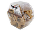 Design Non-Abrasive Art Gum Block Erasers, 36/Canister