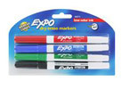 Expo Dry Erase Boards and Markers (4 Assortments)