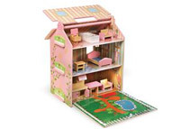 Badger Basket Ivy Cottage Dollhouse w/ Furniture
