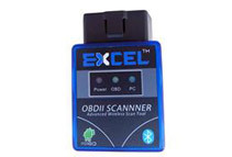 Excel V1.5 Super Mini OBD-II Bluetooth CAN-BUS Auto Diagnostic Tool