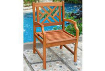Atlantic Hardwood Armchair
