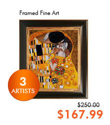 Framed Fine Art (3 Artists)