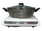 Tatung Induction Cooktop and Stainless Steel Pot
