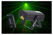 Refurbished Micro Galaxian Laser Effect Lighting by AMERICAN DJ