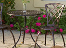 Modern Patio Table and Chair Set