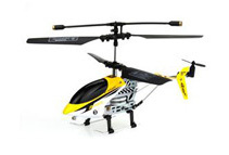2.5 CH Mini Infrared RC Crash-Resistant Helicopter w/ Metal Frame (3 Colors)