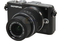 Olympus PEN E-PL3 14-42mm 12.3 MP Interchangeable Lens Camera, Black