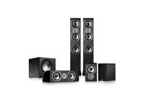 Polk Audio TSi400 5.1 Home Theater Speaker, Black