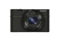 Refurbished: Sony RX100 20.2 MP Digital Camera, Black