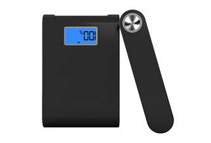 12000mAh High-Capacity External Portable Power Bank with LCD Display (2 Colors)