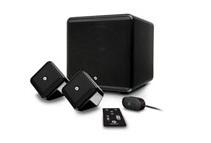 Boston Acoustics SoundWare XS 2.1 Digital Theater Speakers, Black