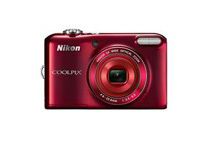 Refurbished: Nikon Coolpix L28  20MP Compact Digital Camera, Red