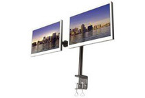 MonMount Dual LCD Monitor Stand Desk Clamp (2 Options)
