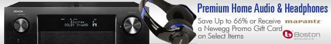 Premium Home Audio & Headphones