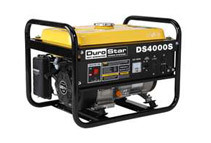 DuroStar 4000W 7.0 HP Air-Cooled OHV Portable RV Gas Engine Generator