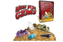 Mine for Gems - Dig Out 10 Real Gemstone Treasures!