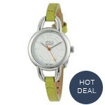 ESQ by Movado Status Women's Quartz Leather Strap Watch