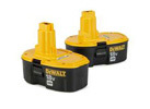 DeWalt 18V 2.4 Ah Ni-Cd Battery (2-Pack)