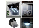 Solar LED PIR Motion Sensor Garden Flood Entrance Outdoor Wall Light