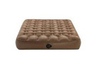 Aerobed Outdoor Adventure Brown Inflatable Air Bed Mattress, Queen