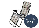 Outsunny Zero Gravity Recliner Lounge Chair (4 Colors)
