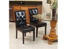 Christopher Knight Home Gentry Dining Chair, Black (2-Piece)