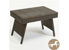 Christopher Knight Home Outdoor PE Wicker Folding Table