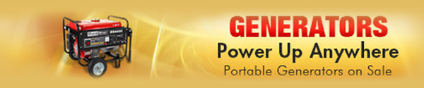 Generators Power Up Anywhere