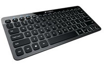 Refurbished: Logitech Bluetooth Auto-Illuminated Keyboard