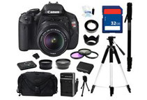 Canon EOS REBEL T3i 18 MP Digital SLR Camera - Comes With Complete Kit