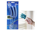 Clear Bind Triple-Wand Microfiber Window Duster