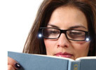 '+1.00 LED Magnifying Reading Glasses