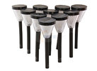 Rosewill 10 Pc Solar Garden Lights Set