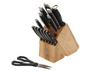 Rosewill 15 Pc Cutlery Block Set