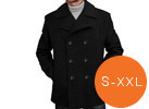 BGSD Men's Wool Blend Pea Coat
