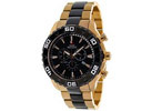 SWISS PRECIMAX Men's Valor Elite Rose-Gold Chronograph Watch