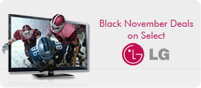 LG Black November Deals on Select LG