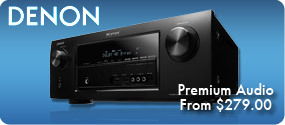 Denon Premium Audio from $279.00